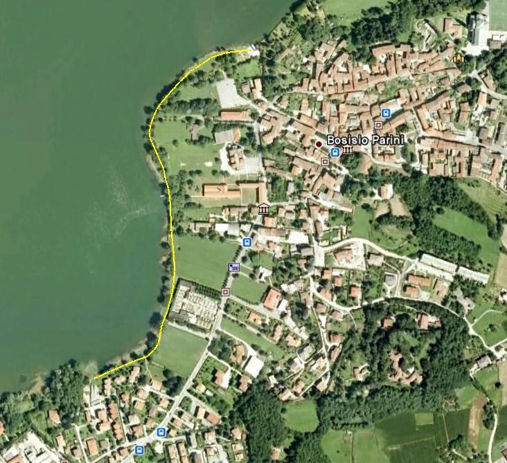La passeggiata sul lungolago di pusiano - Bosisio parini piscina ...